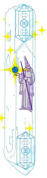 Волшебник Земли, Календарь майя, Цолькин, галлактический календарь