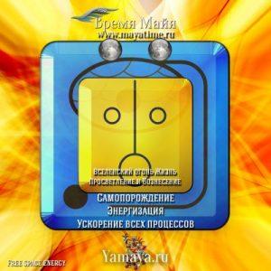 Желтое Солнце календарь Майя